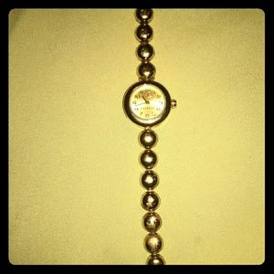 Authentic Coach Gold Watch